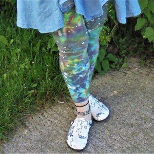 Tie Dye Ladies Leggings